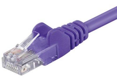 Cat6 2M paars UTP kabel