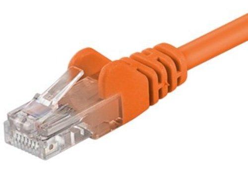 Cat5e 1M oranje UTP kabel