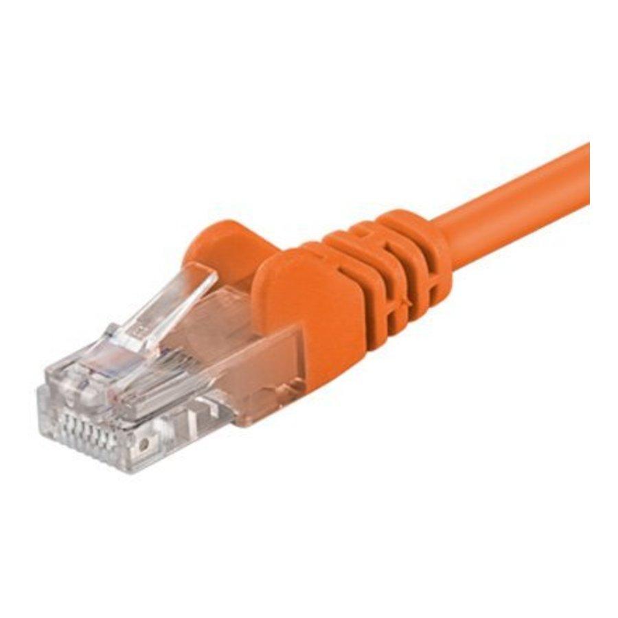 Cat5e 5M oranje UTP kabel-1