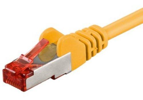 Cat6 S/FTP PIMF LSOH geel 3 meter