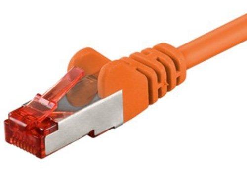Cat6 S/FTP PIMF LSOH oranje 2 meter