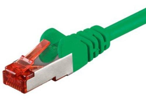 Cat6 S/FTP PIMF LSOH groen 3 meter