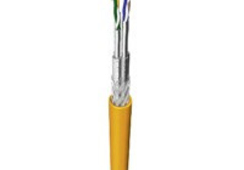 S/FTP CAT 7A 1500MHz netwerkkabel stug 100M koper halogeenvrij