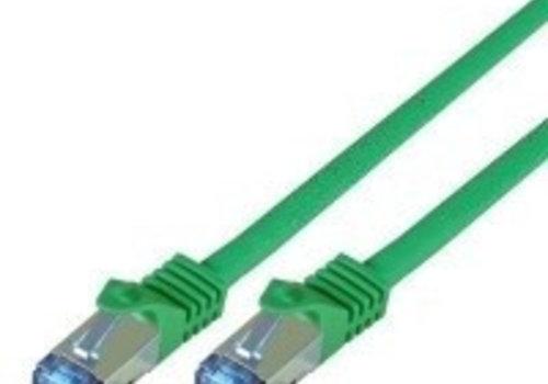 Cat7 1M Groen SSTP/PiMF halogeenvrij patchkabel