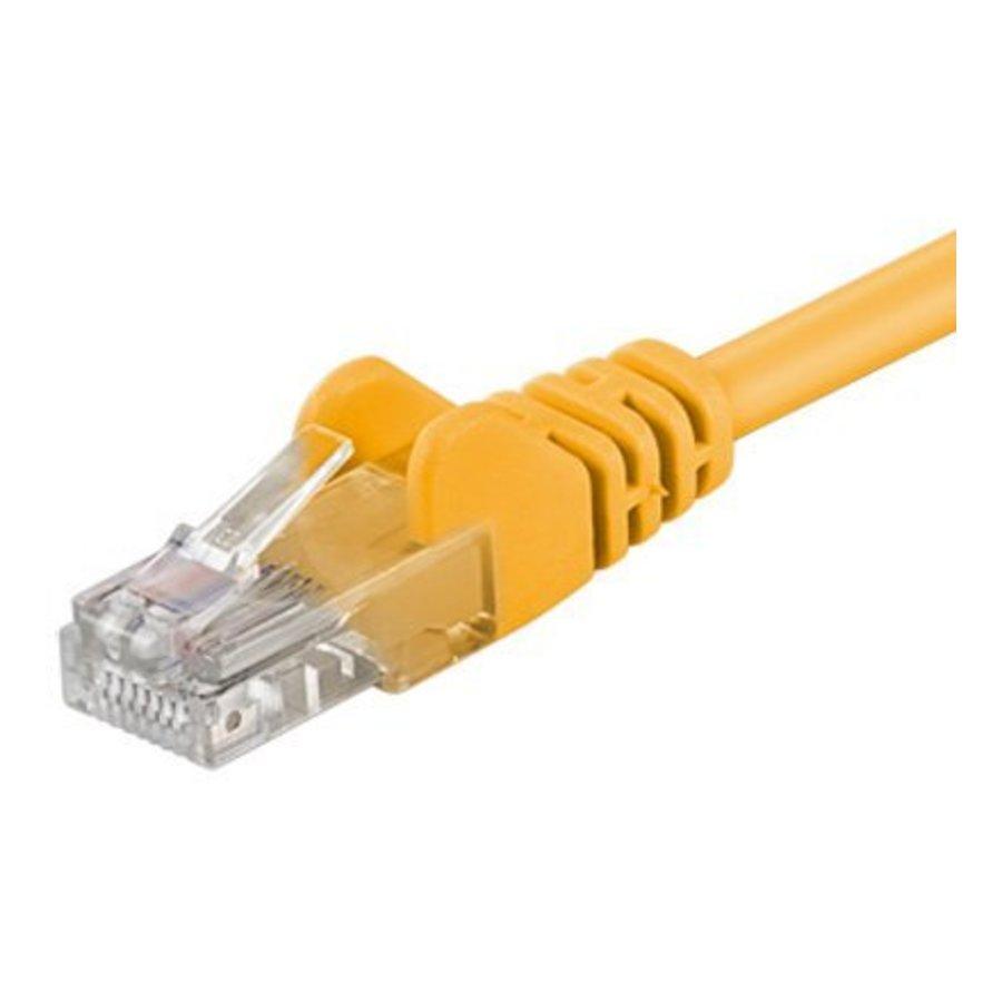 Cat5e 25M Geel UTP kabel-1