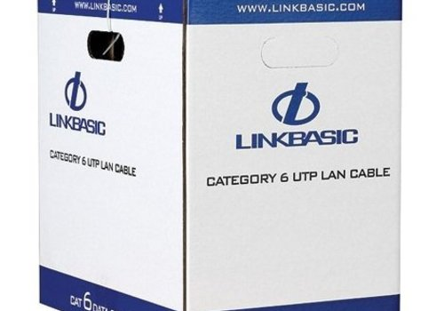 UTP CAT6 netwerk kabel stug 305M 100% koper