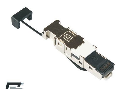 CAT7 Connector RJ45 Shielded Toolless 1 stuk