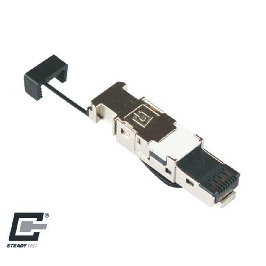 CAT7 Connector RJ45 Shielded Toolless 1 stuk-1