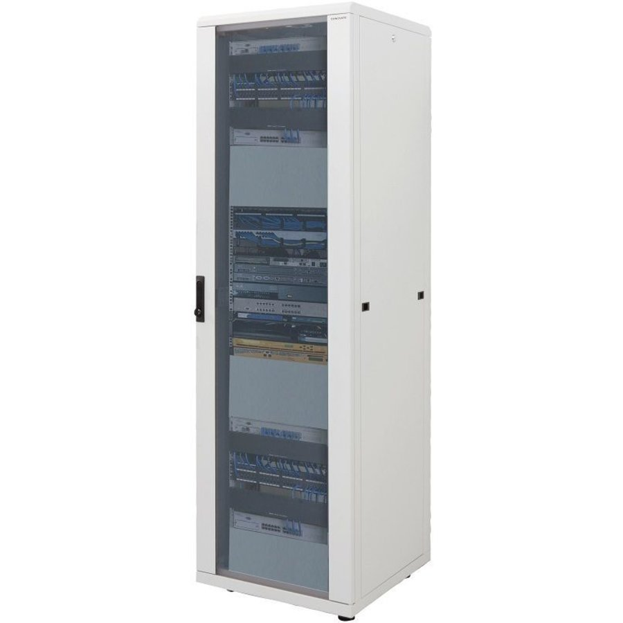 16U Patchkast 600x800x878mm wit