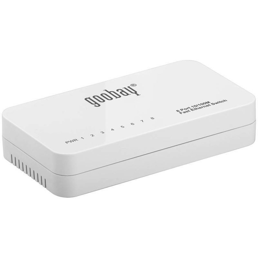 8 Poorts Fast Ethernet Switch 10/100 Mbps-1