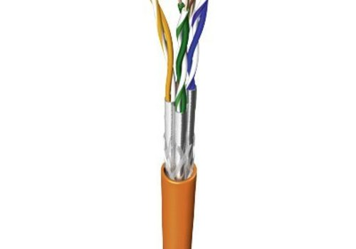 S/FTP CAT7 1000MHz netwerkkabel stug 200M koper halogeenvrij