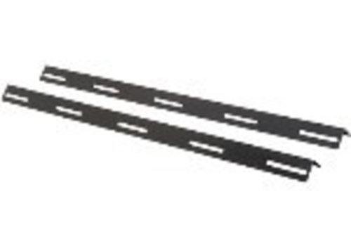 L-steunpaneel voor 1200mm diep kast, max last 15 kg, (2- stuks in een set)
