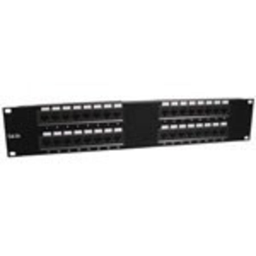 "1U, 19, UTP patchpaneel 32xRJ45, Cat 5e, LSA&110 blokmontage""-1"