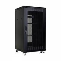 thumb-22U serverkast met geperforeerde deuren 600x600x1166mm (BxDxH)-1