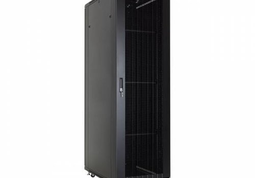 37U serverkast met geperforeerde deuren 600x1000x1833m (BxDxH)