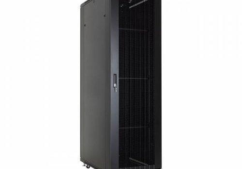37U serverkast met geperforeerde deuren 600x800x1833mm (BxDxH)