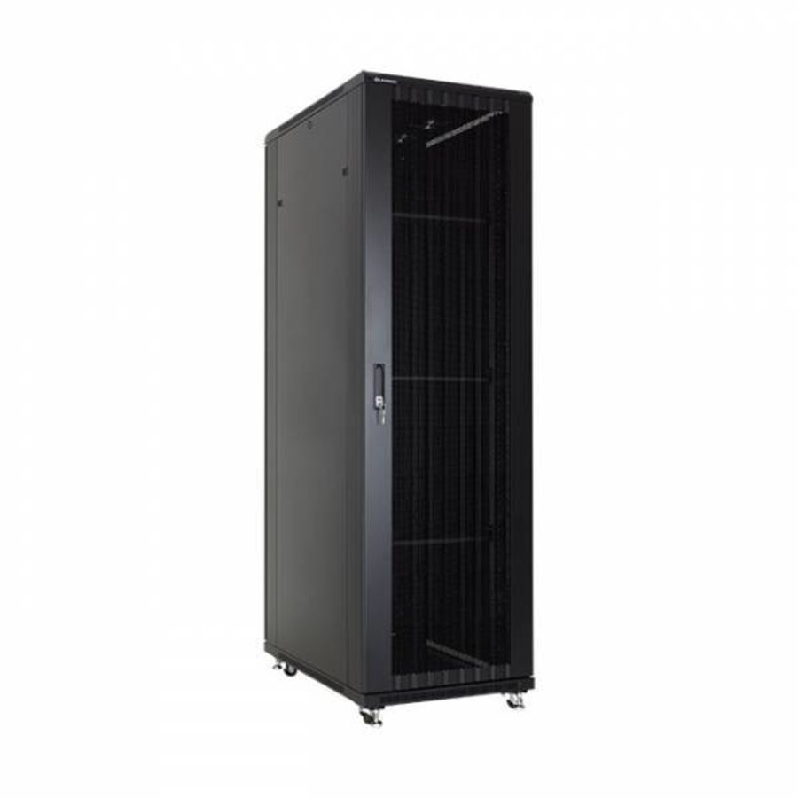 42U serverkast met geperforeerde deuren 600x800x2055mm (BxDxH)-1