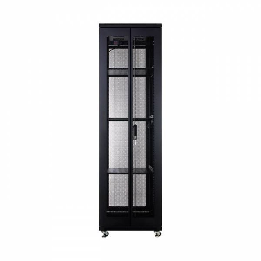 42U serverkast met geperforeerde deuren 600x800x2055mm (BxDxH)-3