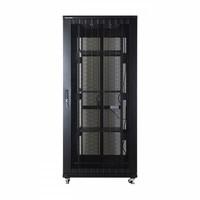 42U serverkast met geperforeerde deuren 800x800x2055mm (BxDxH)