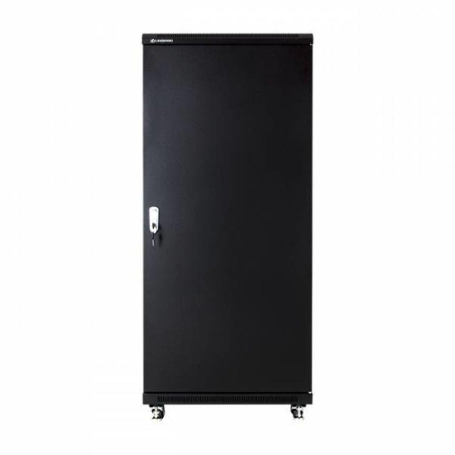 27U serverkast met glazen deur 600x800x1388mm (BxDxH)-4