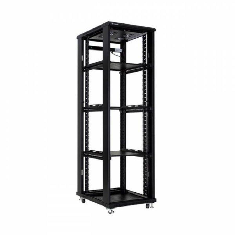 37U serverkast met glazen deur 600x1000x1833m (BxDxH)-2