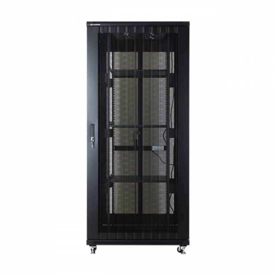 37U serverkast met geperforeerde deuren 800x800x1833mm (BxDxH)-3