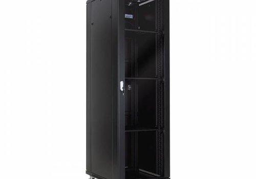 42U serverkast met glazen deur 800x1000x2055mm (BxDxH)