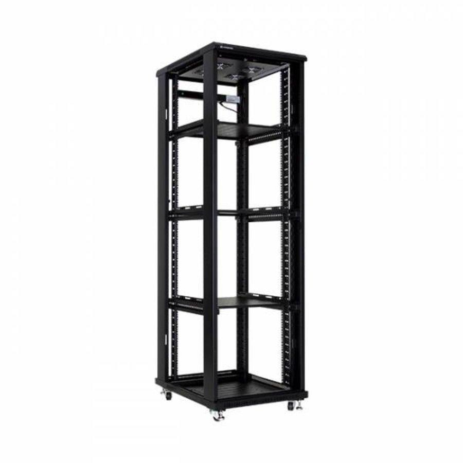 42U serverkast met glazen deuren 600x600x2055mm (BxDxH)-2