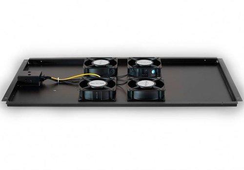 Ventilatorset met 4 ventilatoren geschikt voor alle serverkasten van 1000mm diepte