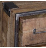 Mysons Angles ladenkast mangohout met ijzer