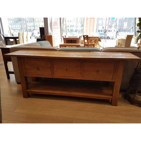 Side Table Met Lade.Side Table Met Grote Laden Teak Or 46 Dessa Meubelen De Teak