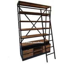 Boekenkast Bien met ladder