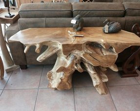 Wortel side tables/wandtafels