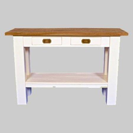 Side table wit met teak OR44
