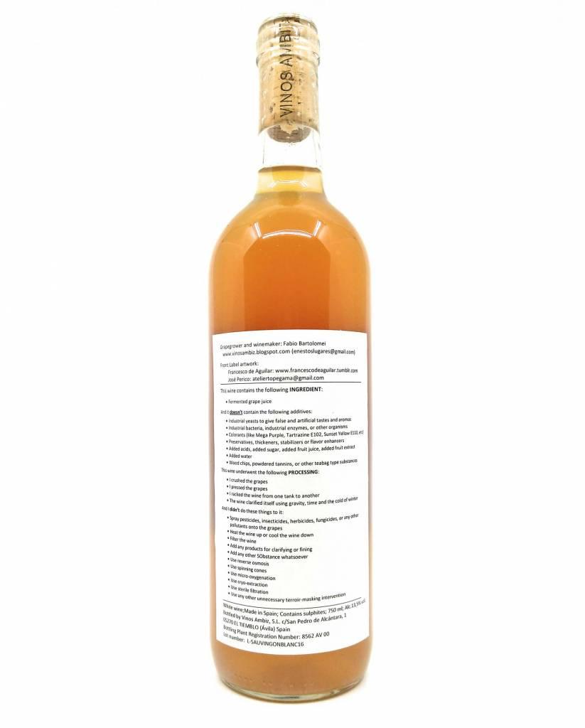 Vinos Ambiz - Sauvignon blanc 2016