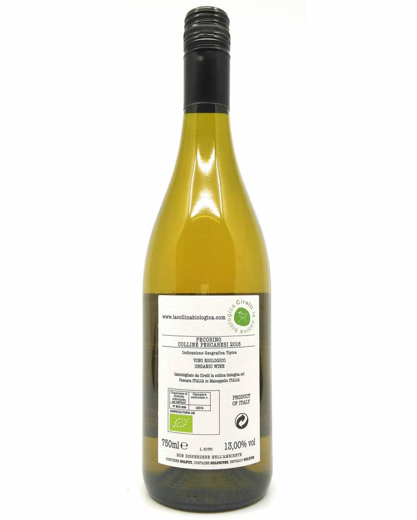 Cirelli la collina biologica - Pecorino 2016