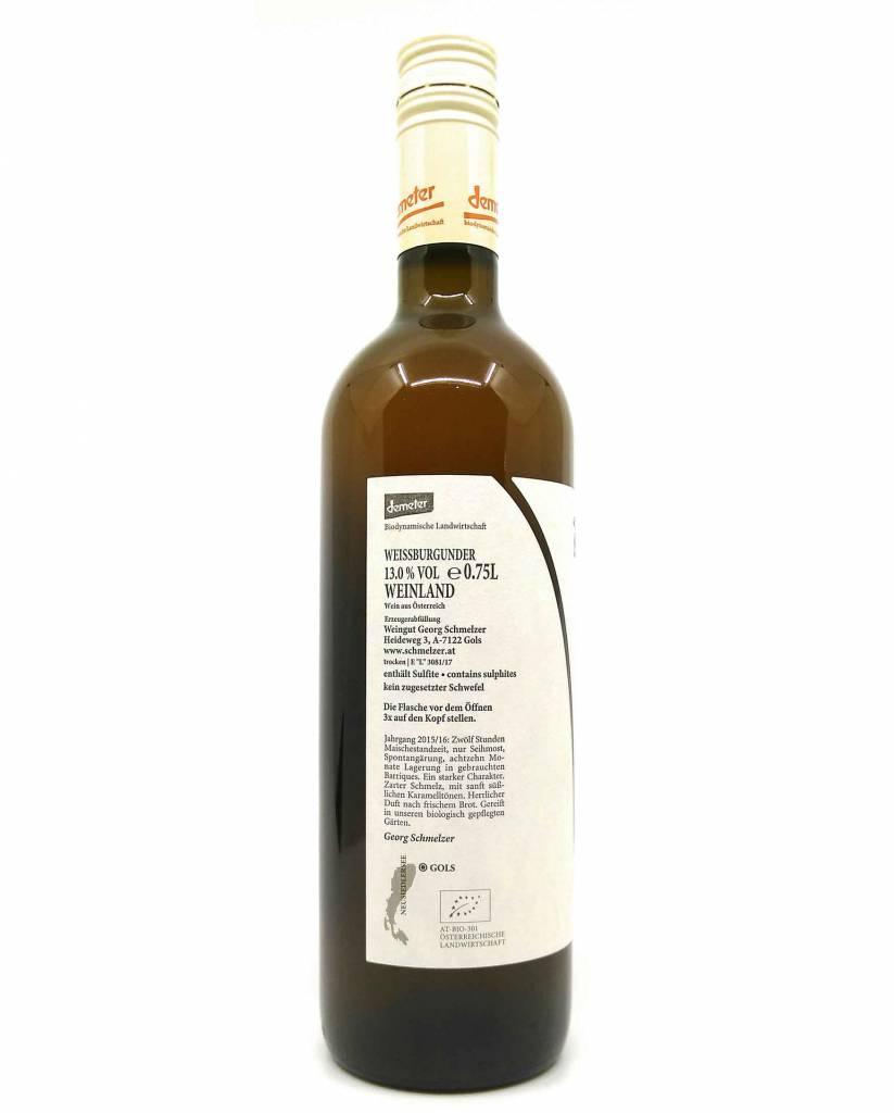 Schmelzer-Weißburgunder unfiltriert NV