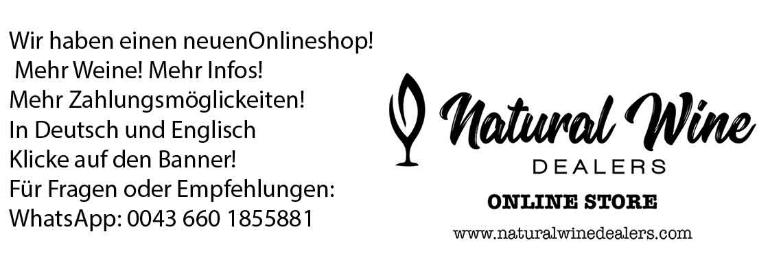 Natural Wine Dealers - Wir haben einen neuen Onlineshop!