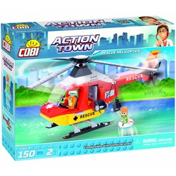 Cobi Action Town Reddings Helicopter # 1762
