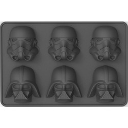 Star Wars: Stormtrooper & Darth Vader Ice Cube Tray / IJsblokjesvorm