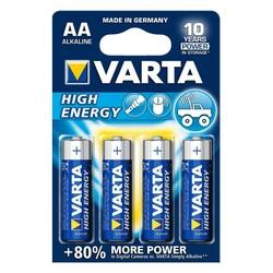 Batterijen Penlight AA VARTA alkaline 4 stuks
