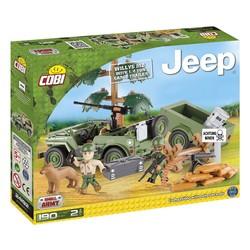 Willys Jeep + 1/4 ton aanhanger