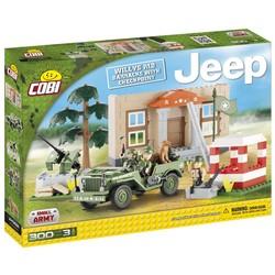 Willys Jeep + Barracs # Cobi 24302