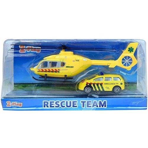 Ambulance Helikopter met Ambulance