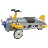 Retro Roller Loopauto Aeroplane Charles