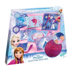 Disney Frozen Queen foil postcards