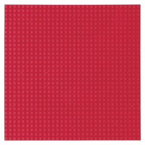 Strictly BRIKS  Grondplaat Strictly BRIKS 32x32 D. Rood