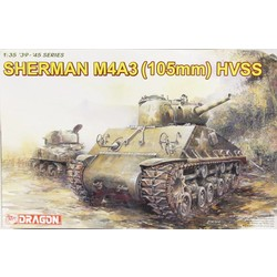 Sherman M4A3 1:35 # Dragon 6354