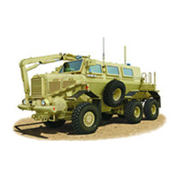 Buffalo 6x6 MPCV 1:35 # Bronco CB35100