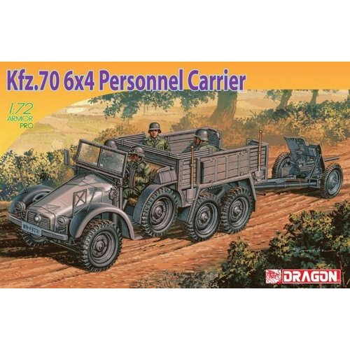 Dragon KFZ.70 6X4 Personell Carrier 1:72 # Dragon 7377